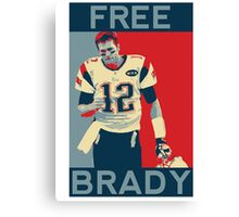 Free Brady 2016 Canvas Print