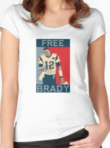 Free Brady 2016 Women's Fitted Scoop T-Shirt