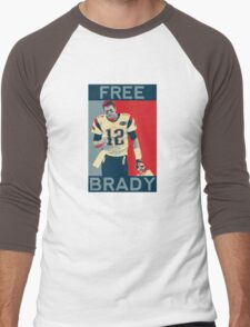 Free Brady 2016 Men's Baseball ¾ T-Shirt