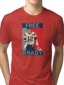Free Brady 2016 Tri-blend T-Shirt