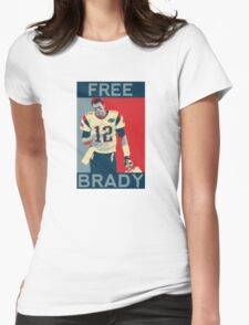 Free Brady 2016 Womens Fitted T-Shirt