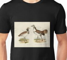 Bilder atlas zur Wissenschaftlich populären Naturgeschichte der Vögel in ihren sämmtlichen Hauptformen Leopold Joseph Fitzinger 1864 112 Unisex T-Shirt