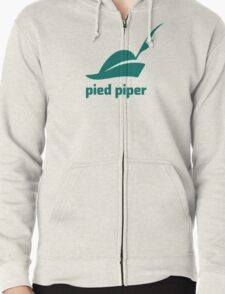 Pied Piper 3.0 Logo - Silicon Valley - New Logo - Season 3 Zipped Hoodie