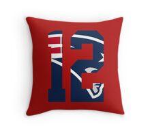 Tom Brady-Jersey Throw Pillow