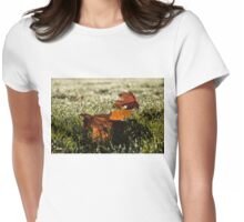 Essence of Autumn Womens Fitted T-Shirt