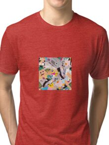 90's Nostalgic Novelties Toy Toss Tri-blend T-Shirt