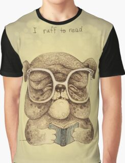 I Ruff to Read Graphic T-Shirt