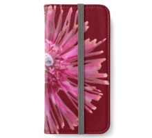 Pink Wildflower iPhone Wallet/Case/Skin