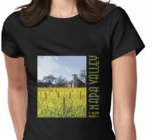 Napa Valley - Water Tower III Womens Fitted T-Shirt