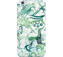 Composition in Green Gouache iPhone Case/Skin
