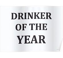 Drinker Of The Year  Poster