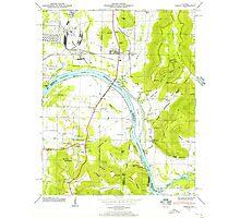 USGS TOPO Map Alabama AL Farley 303816 1947 24000 Photographic Print