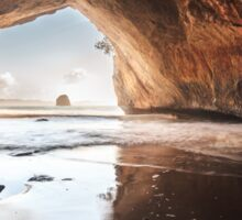 Cathedral Cove - The Coromandel Sticker