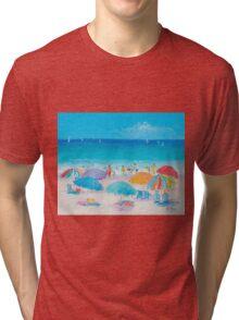 Beach Art - Summer Tri-blend T-Shirt