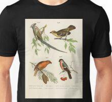 Bilder atlas zur Wissenschaftlich populären Naturgeschichte der Vögel in ihren sämmtlichen Hauptformen Leopold Joseph Fitzinger 1864 040 Unisex T-Shirt
