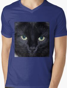 Glowing Eyes Mens V-Neck T-Shirt