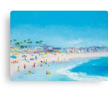 Beach Art - Pacific Beach, San Diego Canvas Print