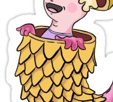 Headless Chicken Boy Sticker