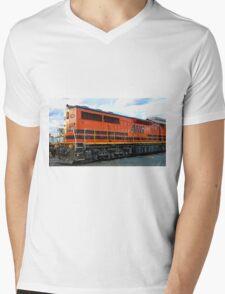 Q Class Electro Motive Diesel Mens V-Neck T-Shirt