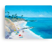 Beach Art - Laguna Beach Canvas Print