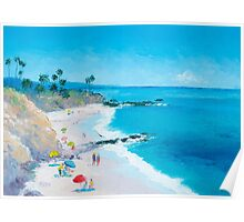 Beach Art - Laguna Beach Poster