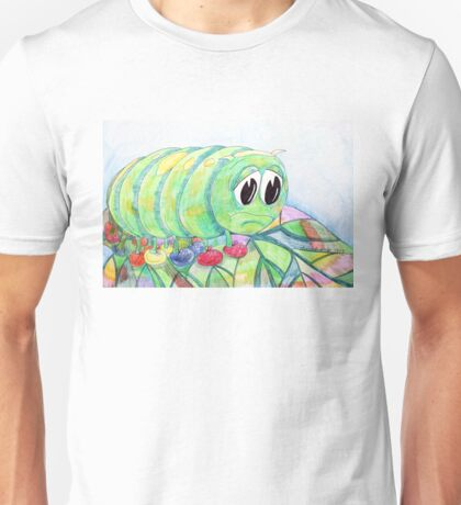 Sad Caterpillar Unisex T-Shirt