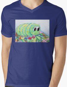 Sad Caterpillar Mens V-Neck T-Shirt