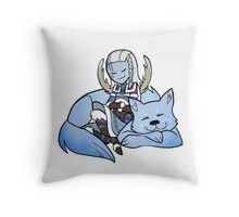 Smite - Delicate as a snowflake (Chibi) Throw Pillow