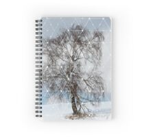 Nature and Geometry - The Sad Tree Spiral Notebook