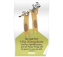 Matthew 6:33 Poster