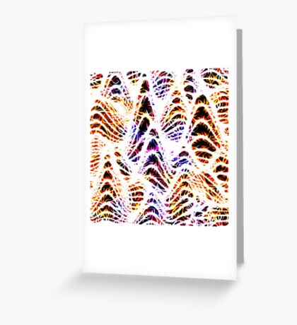 Electric Pulse Greeting Card