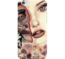 Clockwork girl iPhone Case/Skin
