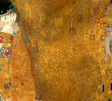Klimt -  Woman in Gold - The Kiss Sticker