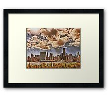 Fall in NYC Framed Print