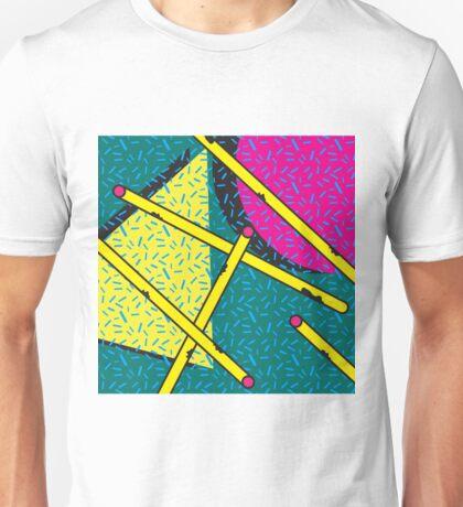 Pattern 1990s Cylinder Unisex T-Shirt
