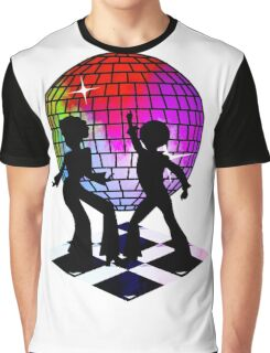 Retro Music DJ! Feel The Oldies! DANCE! Graphic T-Shirt