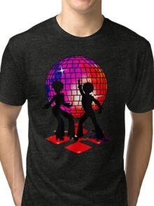 Retro Music DJ! Feel The Oldies! DANCE! Tri-blend T-Shirt