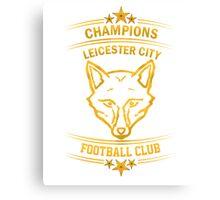 Leicester City Premier League Champions 6 Canvas Print