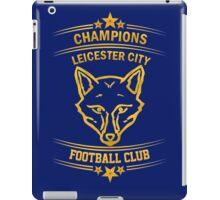 Leicester City Premier League Champions 6 iPad Case/Skin