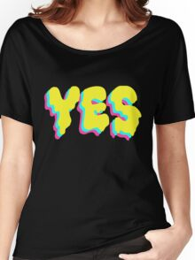 YES Women's Relaxed Fit T-Shirt