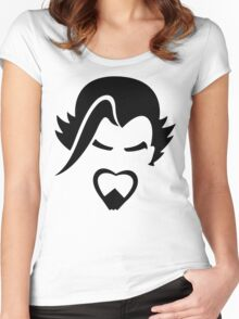 Hanzo Black Women's Fitted Scoop T-Shirt