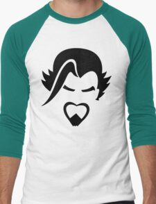 Hanzo Black Men's Baseball ¾ T-Shirt