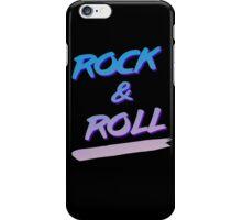 Rock & Roll iPhone Case/Skin