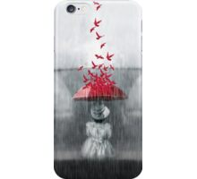 Staying dry iPhone Case/Skin