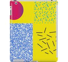 Pattern 90s design Circle iPad Case/Skin