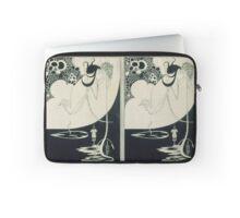 Vintage famous art - Aubrey Vincent Beardsley  - The Climax Illustration From  Salome  By Oscar Wilde Laptop Sleeve