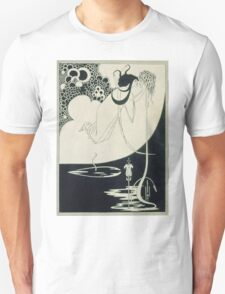 Vintage famous art - Aubrey Vincent Beardsley  - The Climax Illustration From  Salome  By Oscar Wilde Unisex T-Shirt