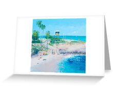 La Jolla Cove in San Diego Greeting Card
