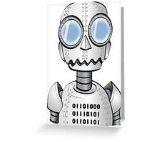 Ro bot Greeting Card