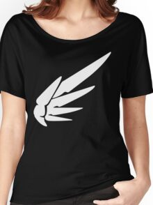 Mercy White Women's Relaxed Fit T-Shirt